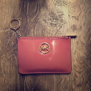 Michael kors key chain wallet
